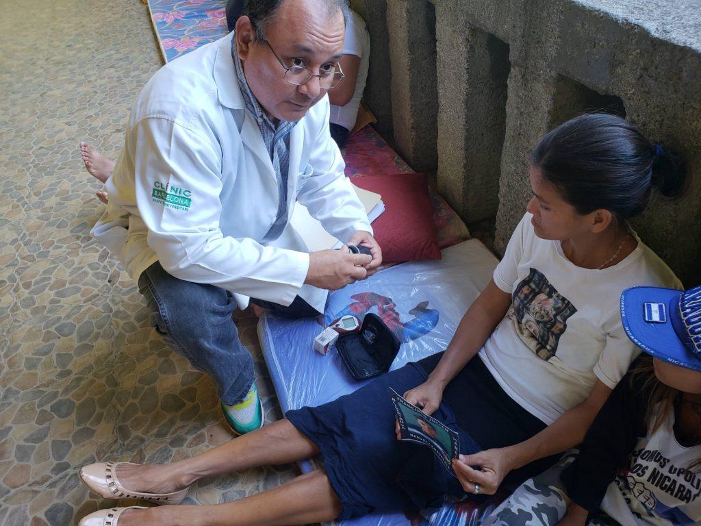 Doctor José Luis Borgen, de la Unidad Médica Nicaragüense (UMN)