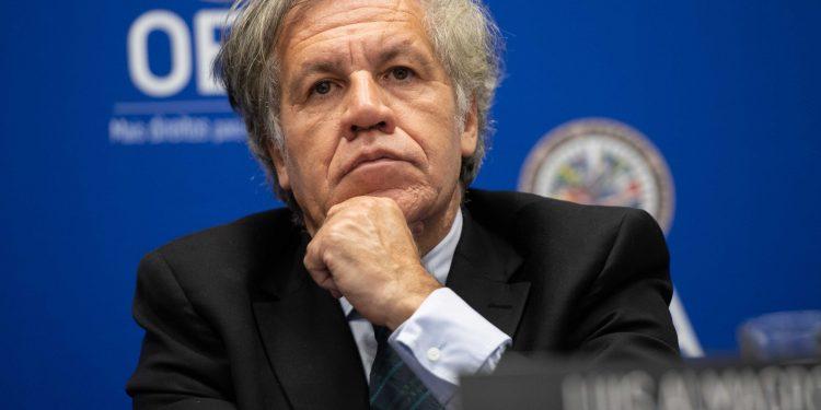 Almagro solicita incluir situación de Nicaragua en sesión de la OEA el 12 de mayo