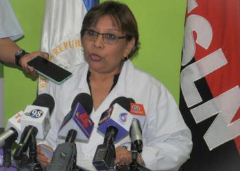 Ministra de Salud de Nicaragua