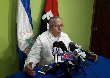 Carlos Sáenz, delegado del Minsa