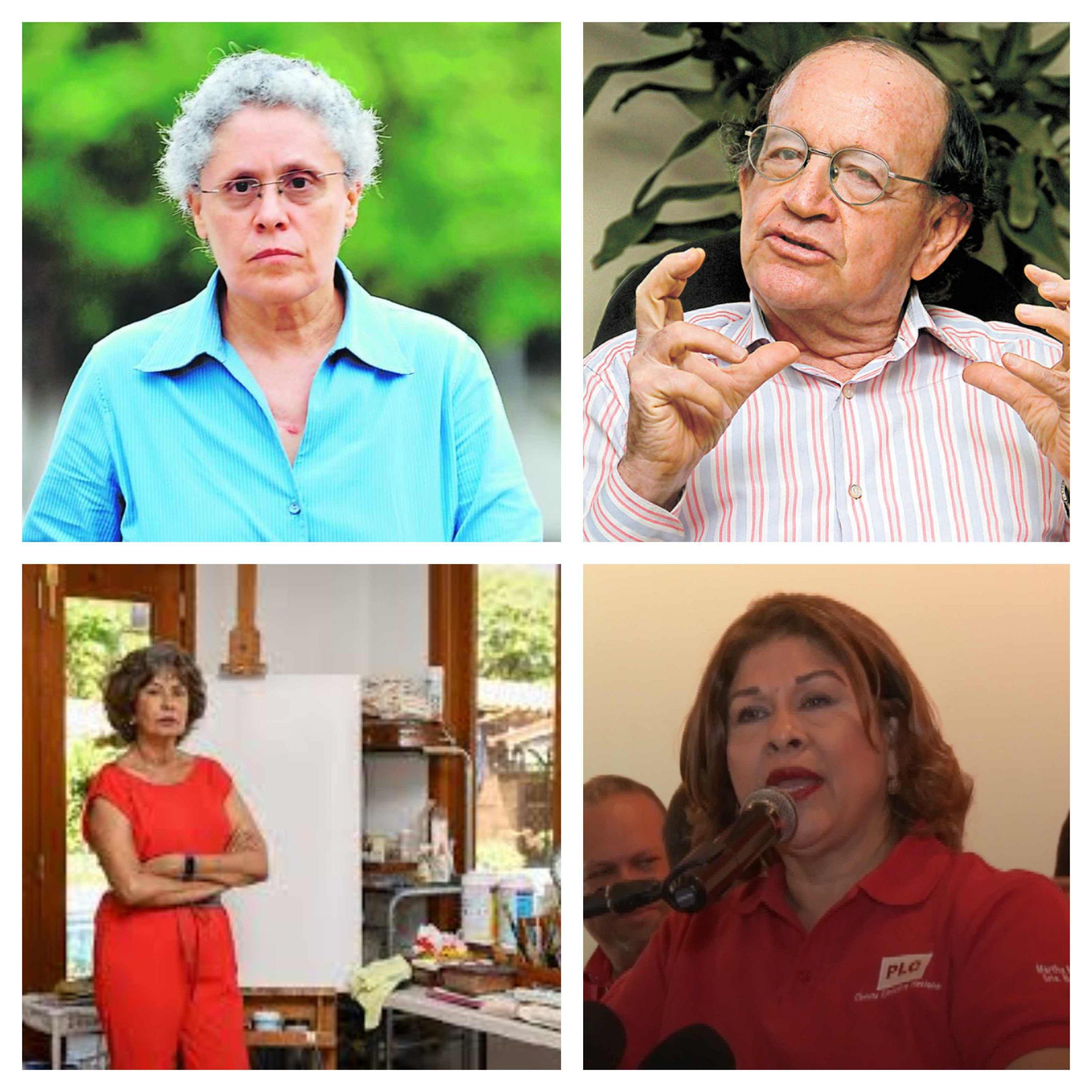 Cuatro de los cinco exministros firmantes de la carta dirigida a la OMS