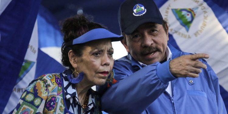 Sanciones a funcionarios orteguistas por parte de la UE, arrecian posibilidad de que se castigue al circulo familiar Ortega Murillo. Foto: Cortesía / AFP