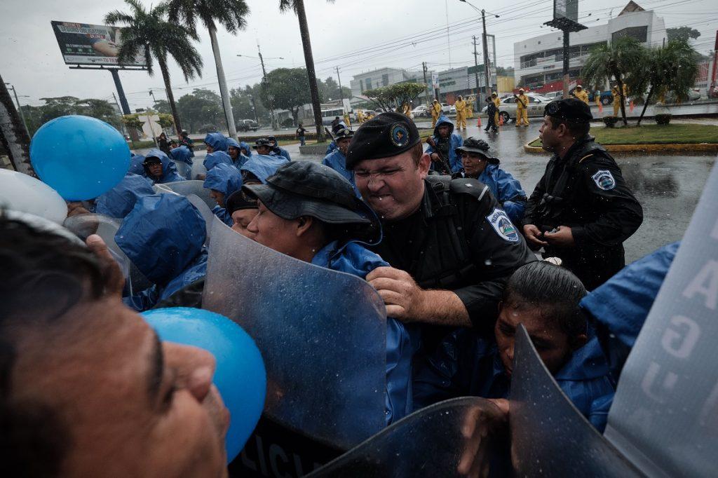 Vence el plazo para que entidades financieras rompan relaciones con la sancionada Policía orteguista. Foto: Carlos Herrera