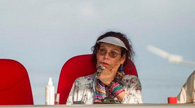 Rosario Murillo, vicedictadora de Nicaragua. Foto: EFE