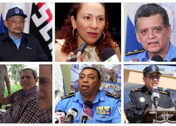 Funcionarios sandinistas sancionados por la Unión Europea por diversos crímenes