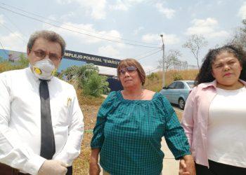 Familiares de Wilfredo Brenes exigen a la Policía explicaciones sobre el paradero del exreo político. Foto: Noel Pérez/Artículo 66