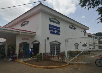 Dos salas del hospital privado Sermesa de Masaya cambiaron de área por casos de COVID-19. Foto: Noel Miranda / Artículo 66