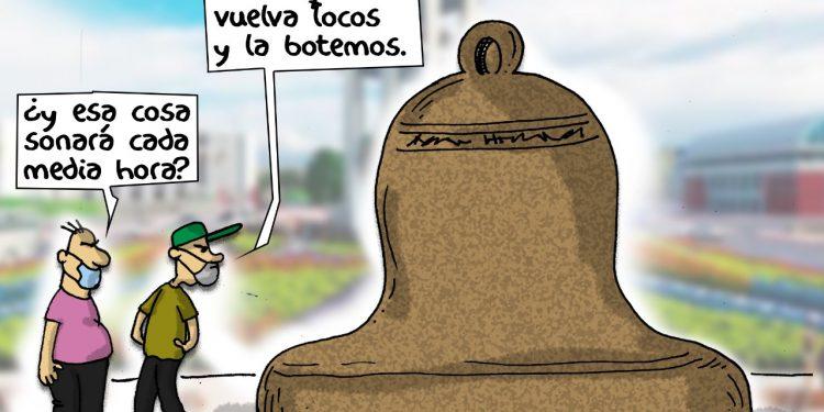 La Caricatura: La campana de La Pa$
