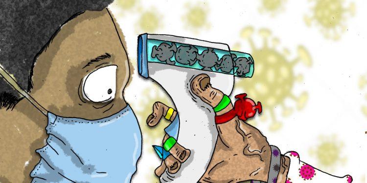 La Caricatura: Plan contagio-genocidio viral