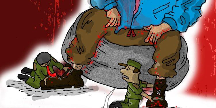 La Caricatura: La dignidad de los militares