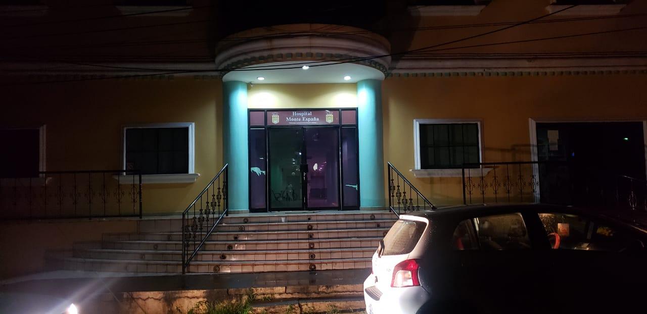 Hospital Monte España de Managua. Foto: Geovanny Shiffman/Artículo 66