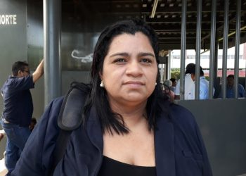 Abogada Yonarqui Martínez fue retenida y luego dejada en libertad mientras se encontraba en Esquipulas, Isla de Ometepe. Foto: La Prensa