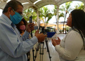 PEN Internacional: «Nicaragua: Doble censura, Covid-19 y amenazas a periodistas». Foto: Cortesía