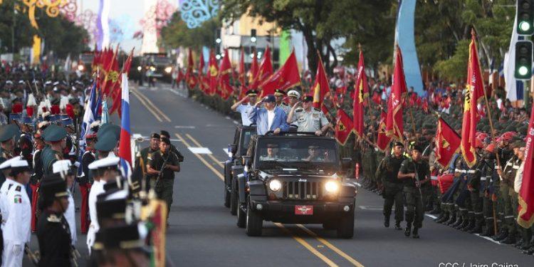 Ejercito de Nicaragua celebrará el 41 aniversario de su fundación con «actos internos y virtuales». Foto: Cortesía