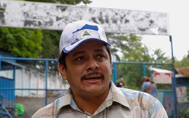 Medardo Mairena, líder del Movimiento Campesino y excarcelado político. Foto: Tomada de Internet