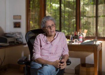 Excomandante Dora María Téllez confirma que se contagió de COVID-19. Foto: Carlos Herrera