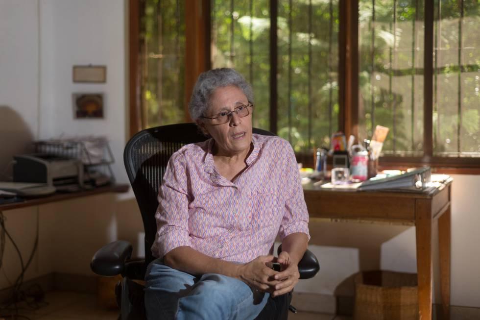 Comandante Dora María Téllez confirma que se contagió de COVID-19. Foto: Carlos Herrera