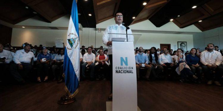 Miembro de Alianza Cívica dice que «cualquier día pueden firmar los estatutos de la Coalición Nacional». Foto: Carlos Herrera