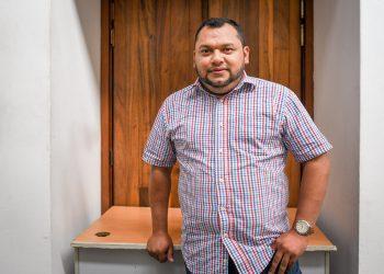 Edgar Tijerino: «Álvaro Navarro, uno de los espartacos». Foto: Cortesía Carlos Herrera/DIVERGENTES