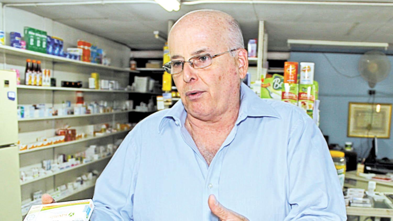 El exdiputado liberal y boticario Alberto Lacayo. Foto: Cortesía
