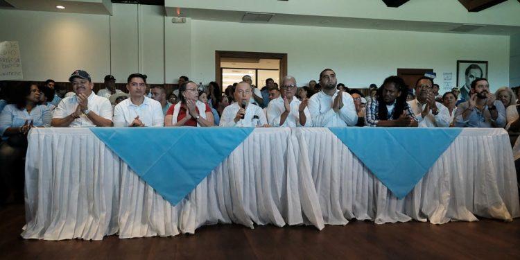 Alianza Cívica sí firmará la Coalición Nacional, tras «intensa negociación». Foto: Carlos Herrera.