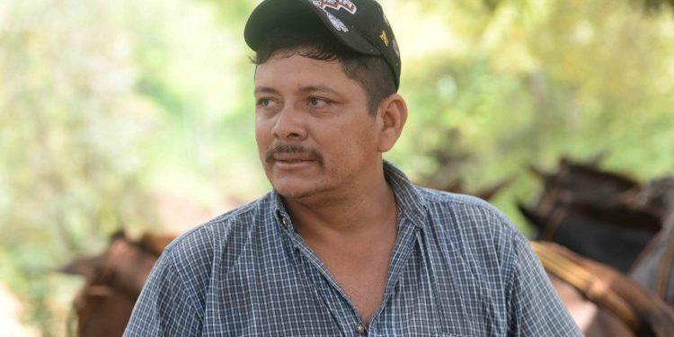 Medardo Mairena, líder del Movimiento Campesino de Nicaragua. Foto: Tomada de Internet