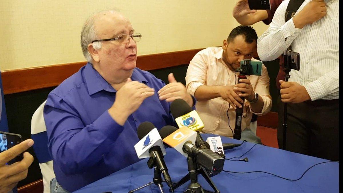 Doctor José Pallais, hasta este martes integrante de la Alianza Cívica. Foto: Cortesía