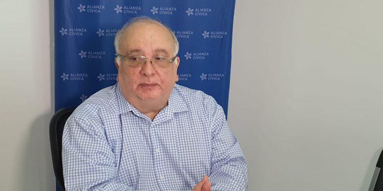 «No es esta la Alianza Cívica con la que yo me comprometí», dice José Pallais tras su renuncia. Foto: Cortesía