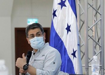 Juan Orlando Hernández, presidente de Honduras. Foto: Europa Press