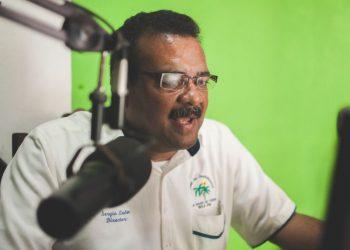 Periodista de Bluefields Sergio León, trasladado de emergencia con síntomas de COVID-19. Foto: Cortesía