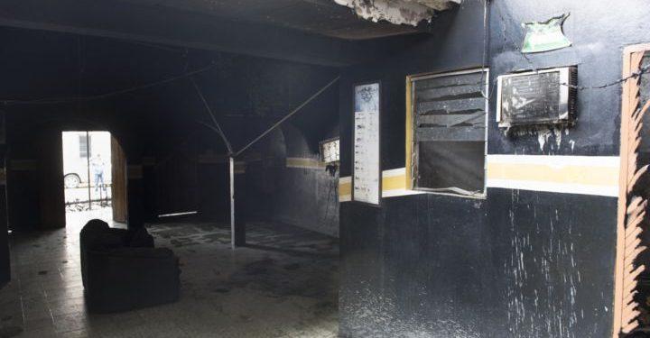 Se cumplen dos años de la quema a las casas de los exreos políticos Cristhian Fajardo y Chester Membreño. Foto: La Prensa