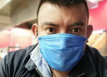 Noel Pérez, reportero de Artículo 66 en Masaya