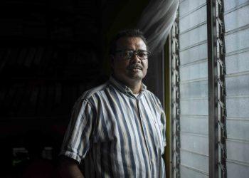 Periodista Sergio León continúa hospitalizado, pero presenta mejorías en su salud. Foto: La Prensa