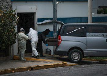 Muertes por COVID-19 en Nicaragua. Foto: Confidencial