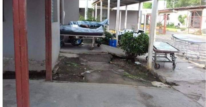 Artículo 66 Morgue del Hospital Alemán Nicaragüense está «colapsada» con muertos por COVID-19. Foto: Artículo 66