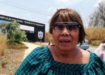 Muere la madre del preso político de Masaya Wilfredo Brenes