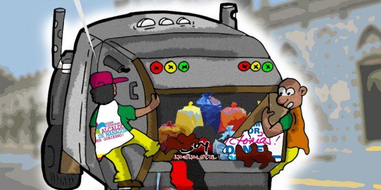 La Caricatura: Así ve el régimen orteguista a sus seguidores