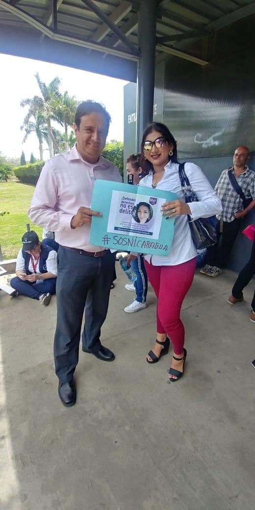 Abogada defensora de derechos gremiales Karen García. Foto: Cortesía