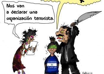 La Caricatura: FSLN terroristas
