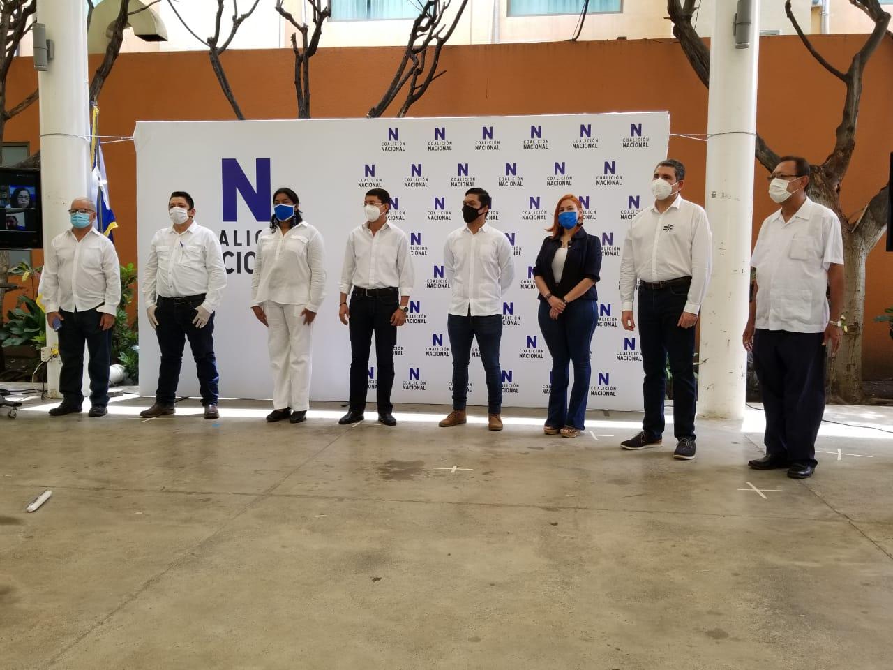 Coalición Nacional se compromete a dejar atrás «los vicios de reelección y el caudillismo» para enfrentar unidos al orteguismo. Foto: Artículo 66