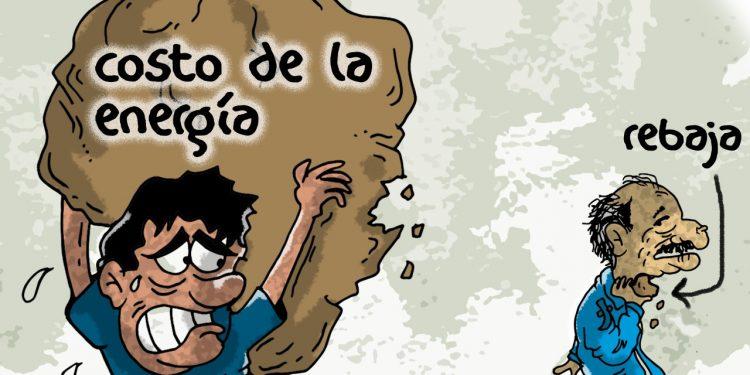 La Caricatura: La gran estafa de la energía