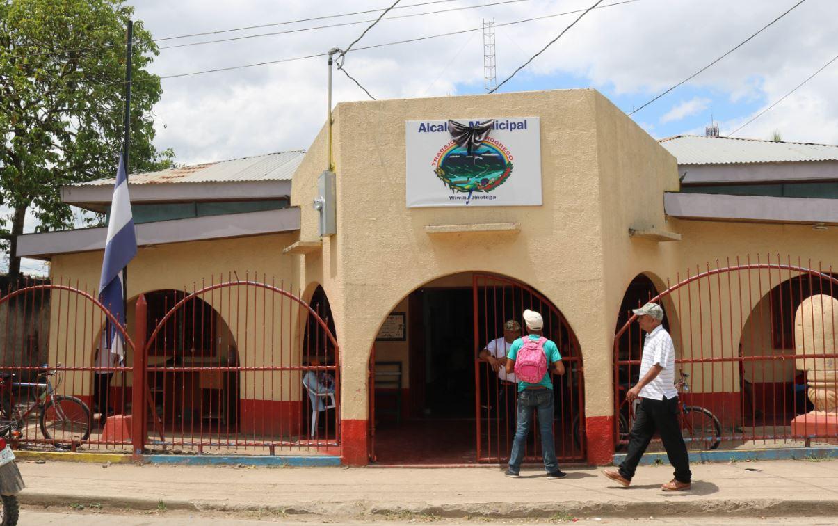 Alcaldía de Wiwilí en Jinotega Foto: Cortesía/Mosaico