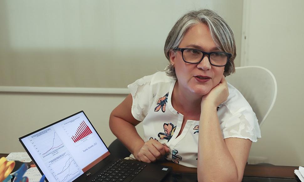 Josefina Vijil, Investigadora en temas de educación y miembro de la Academia de Ciencia de Nicaragua. Foto: Orlando Valenzuela / END