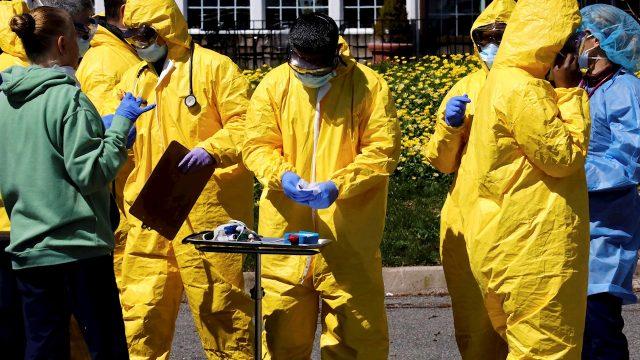 Médico de hospital público asegura que en Nicaragua a diario hay entre 30 a 50 muertes por COVID-19. Foto: Referencia / EFE