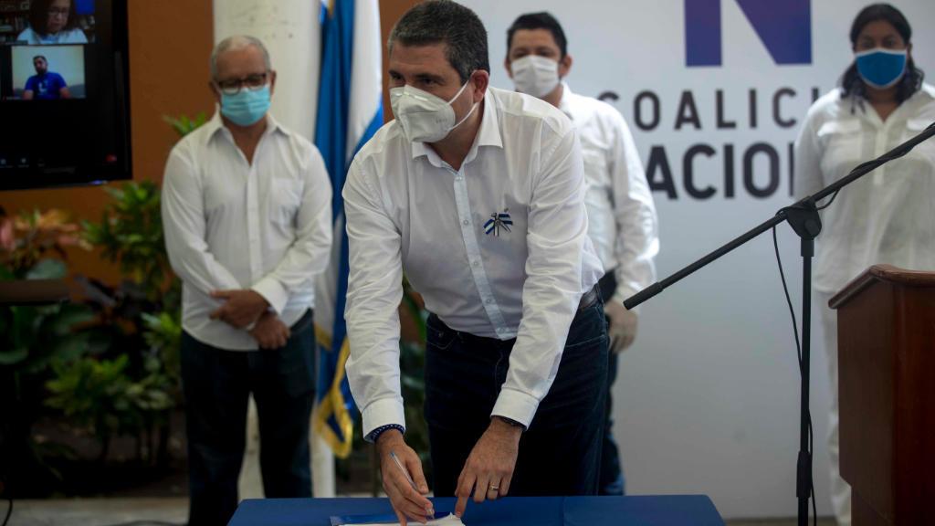 Juan Sebastián Chamorro, director ejecutivo de la Alianza Cívica. Foto: Cortesía