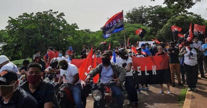 Dictadura manda a sus fanáticos a «celebrar» el segundo aniversario del ataque a la UNAN-Managua