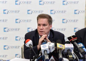 Cámaras agremiadas al Cosep presionan por un relevo de José Adán Aguerri en la presidencia. Foto: Carlos Herrera