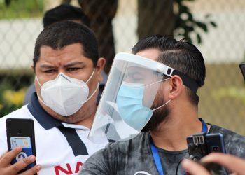 58 periodistas independientes se han contagiado y dos fallecieron por COVID en Nicaragua. Foto: Álvaro Navarro/Artículo 66