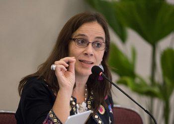 Antonia Urrejola afirma que «a veces el derecho a la verdad demora en llegar, pero termina llegando». Foto: Cortesía