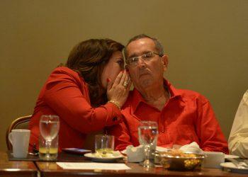 María Fernanda Flores y Arnoldo Alemán. Foto: Tomada de Internet